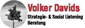 Volker Davids – Strategie- & Social Listening Beratung