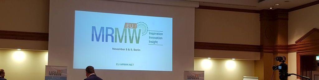 MRMW EUROPE 2017 – MOBILE MARKTFORSCHUNG IM PARK INN BERLIN