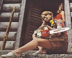 40 Jahre Stihl-Kalender Mädchen und Maschinen